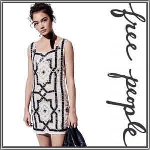 Free People Speakeasy Sequin Shift Dress
